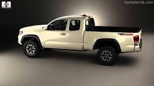 Toyota Tacoma Access Cab Long bed TRD Off-Road 2014 by 3D model ...