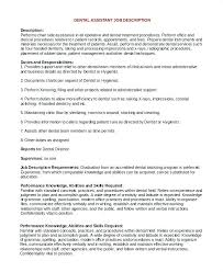 job description for a dentist job description for a dentist isale