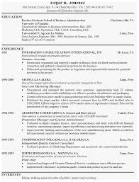 Great Resume Samples Unique Example Of A Good Cv 13 Winning