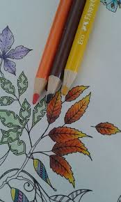 coloring leaves with only 3 colored pencild find this pin and more on colored pencil techniques by kdh1908 shading techniques for coloring secret garden