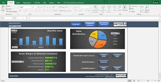 Sales Report Template Excel Dashboard For Sales Managers