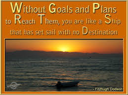 quotes on goals and objectives quotesgram