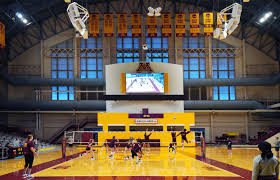 U Of M Pavilion Seating Chart Gophers Volleyball Team Feels Cool Inside Remodeled Maturi