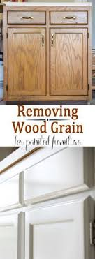 how to remove wood grain