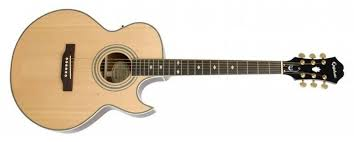 <b>Электроакустическая гитара Epiphone PR</b>-<b>5E</b> Natural Gold HDWE ...