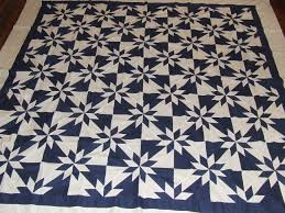 Blue and White Hunter's Star quilt top | Tim Latimer - Quilts etc & This ... Adamdwight.com