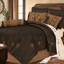 laredo luxury embroidered star comforter set 3 colors avail