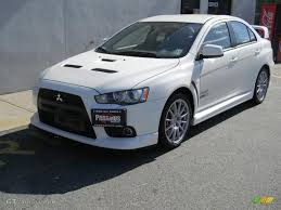 Wicked White 2008 Mitsubishi Lancer Evolution GSR Exterior Photo ...