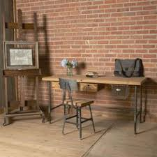 reclaimed wood office. Modern Industry Reclaimed Wood Desk Office W