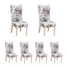 cover my furniture. OEM 6Pcs Home Piece Office Hotel Back Cover Chair Sets Elastic My Furniture