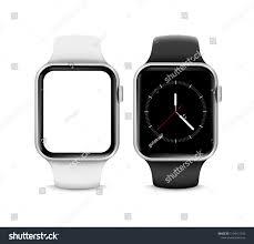 Smartwatch App Design Smartwatch With Big Blank Screenbig Smartwatch Screen Blank