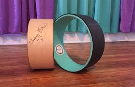 pictures of wheel yoga prop