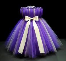 Purple And Silver Tutu Dress Baby Tutu Tutu Tutu Dress Infant