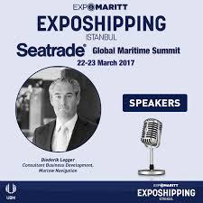 exposhipping expomaritt linkedin diederik legger consultant business development marlow navigation will be at the 14th exposhipping expomaritt between 22 23