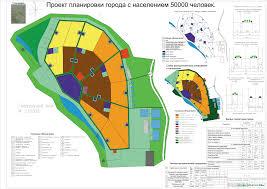 Благоустройство курсовая работа территории парка Чертежи РУ Курсовая работа Проект планировки города на 50000 жителей