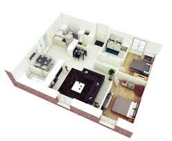 2 bedroom house floor plans. 2 bedroom house floor plan 3d plans