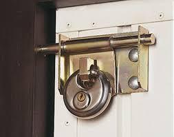 garage door lock. Motrax Arma Garage Door Lock