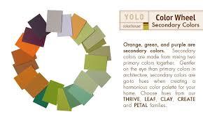 Yolo Paint Color Chart Yolo Colorhouse Secondary Colors Color Wheel Color