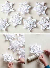 How To Make A 3d Snowflake How To Make 3d Snowflakes