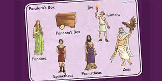 pandoras box display primary resources myths and page  pandora s box ancient greek myth word mat