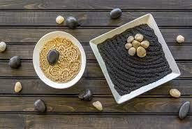 make a tabletop zen rock garden diy