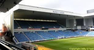 Ibrox Stadium Glasgow Rangers Fc Scottish Football