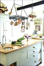 Kitchen hanging rack Stainless Steel Hanging Pan Rack Kitchen Kitchen Hanging Rack Full Size Of Kitchen Regarding Kitchen Pot Hangers Ideas Kitchen Hanging Pot Racks Fbchebercom Kitchen Pot Hanger In Kitchen Pot Hangers Ideas Kitchen Pot Hanging