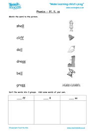 Phonics worksheets to support your child's learning and help them prepare for the year 1 phonics screening check. Phonics Ll Ss Words Tmk Education Worksheets Pdf Christmas Activity Sheets For Ff Words Phonics Worksheets Worksheets Math Exercise For Grade 10 Children Educational Games Basic Numeracy Skills Assessment Free Multiplication Worksheets
