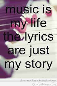 My Life Quotes Extraordinary Music Is My Life Quote On Picture