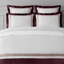 italian two tone border bedding