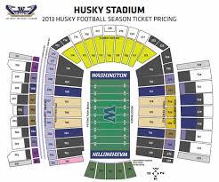 Husky Stadium Seating Chart Elcho Table