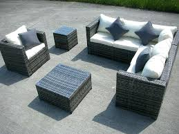 amazon patio furniture covers. Amazon Outdoor Furniture New Grey Rattan Wicker Conservatory Garden Set Corner Sofa Table Patio Covers