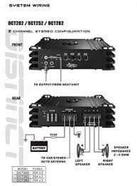 amazon com lanzar dct282 4000 watt 2 channel full fet class ab 2 Channel Car Amp Wiring Diagram at 2 Channel Amp Wiring Diagram