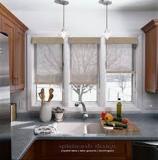 custom window treatments and kitchen window shades by spiritcraft interior design of crystal lake and barrington