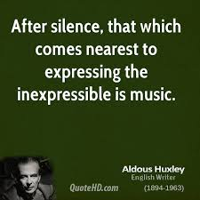 Aldous Huxley Music Quotes QuoteHD Inspiration Expressing Quotes