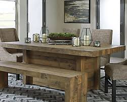 dining room tables. Dining Room Tables With Bench Intended For Kitchen Furniture Ashley HomeStore Ideas 1