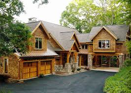 lake house designs with views craftsman rustic cabin plans walkout cabin plans with walkout basement