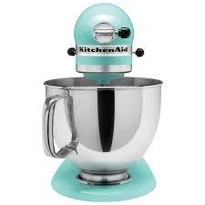 kitchenaid artisan stand mixer 5qt 325 watt ice blue stand mixers best canada