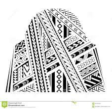 орнамент татуировки рукава иллюстрация вектора иллюстрации