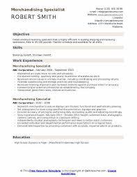 Best Buy Resume Examples Merchandising Specialist Resume Samples Qwikresume