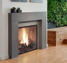 linnea 3 modern fireplace surround ash concrete tiles