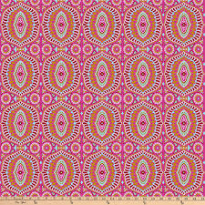 zoom freespirit night by amy butler 108 quilt back temple tiles berry
