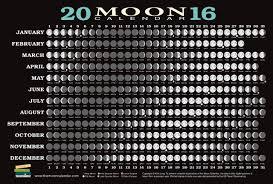 Lunar Chart 2015 2016 Moon Calendar Card 5 Pack Kim Long 9781615192601