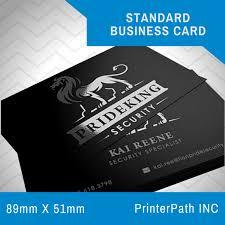 Printerpath Inc Standard Business Card Enabling Online Printing Store