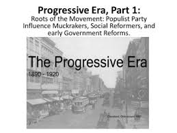 progressive era essay