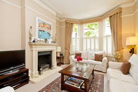 bedroom to bay window living room