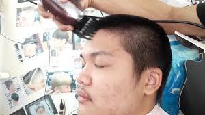 Skinhead 4สกนเฮดเบอร4รองทรงกลางกนขอบทรงผมวยรนทรง