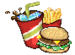 fast food maker fast food pixel art maker
