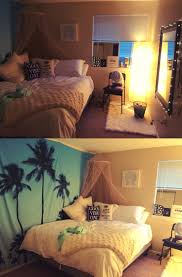 beach themed bedroom perfect for a small apartment all items were bought from ikea beach theme furniture 1000
