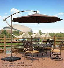 4 the amt deluxe adjule offset cantilever patio umbrella review